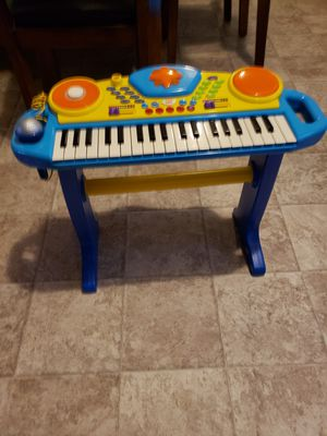 Toddler piano music station with Mic for Sale in Hampton, VA