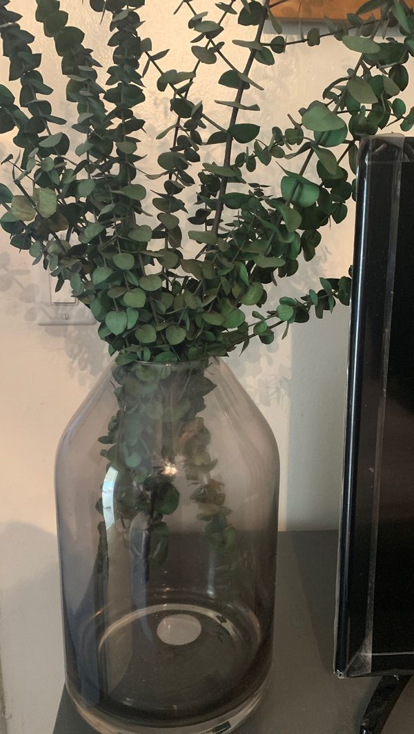 Hearth & Hand Target vase artificial eucalyptus stems included.