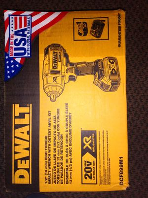 Brand new dewalt 1/2 inch high torque impact wrench!!! for Sale in Lancaster, OH