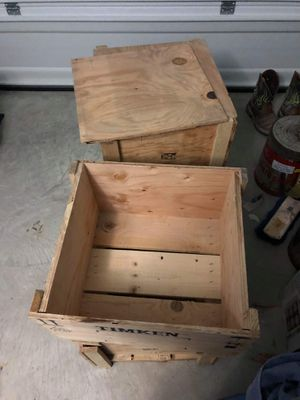 2 wooden crates for Sale in Waxahachie, TX