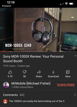 Sony MDR-1000X for Sale in Nashville, TN