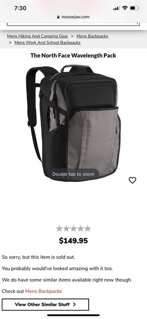 SOLD OUT north face wavelength backpack commuter travel bag for Sale in San Francisco, CA