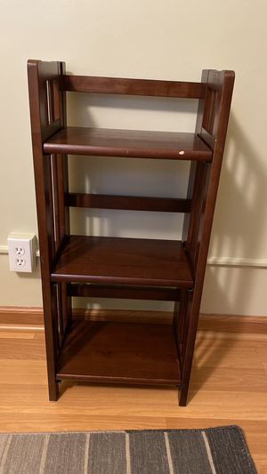 Small Solid Wood Folding Book Shelf for Sale in St. Louis Park, MN