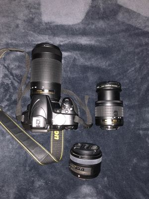 Nikon D3400 with Lenses for Sale in Laguna Beach, CA