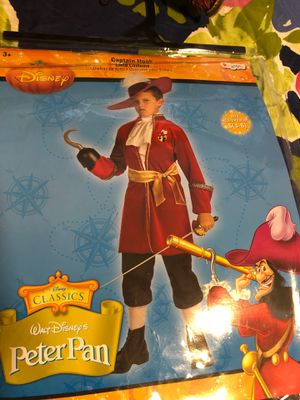 Boys Hook costume w hat for Sale in Paramount, CA