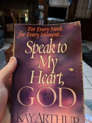 Speak to my heart, God by Kay Arthur for Sale in Montgomery, AL