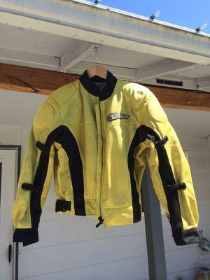 First gear womens street motorcycle jacket medium for Sale in Milwaukie, OR