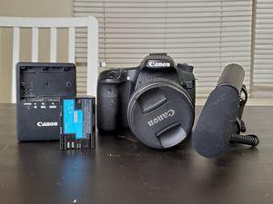 Canon 70d for Sale in Dearborn, MI