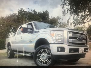 2015 Ford F-350 Platinum Turbo Diesal for Sale in Houston, TX