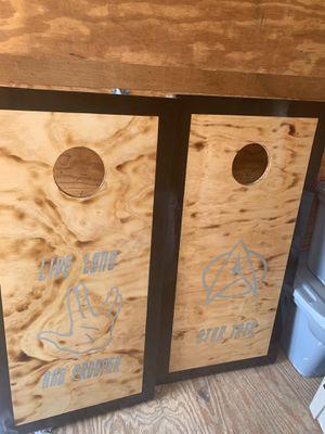 Star Trek corn hole boards for Sale in Fort Meade, FL