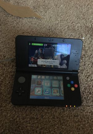 Black Nintendo 3ds super Mario edition for Sale in Jonesboro, GA