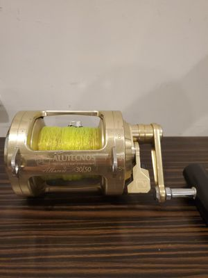 Alutecnos Albacore 30/50 Big Game Fishing Reel Made in Italy for Sale in Fort Lauderdale, FL