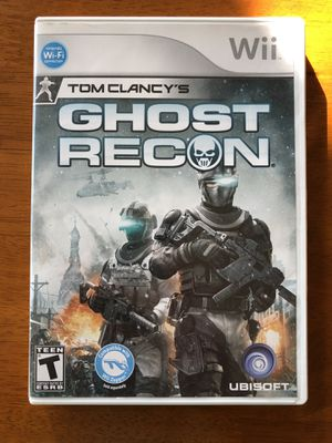 Tom Clancy's Ghost Recon Wii for Sale in Fresno, CA
