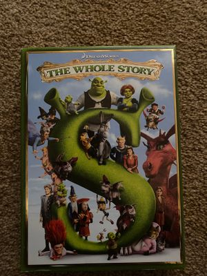 Shrek - The Whole Story 4 Movie Collection for Sale in Marysville, WA