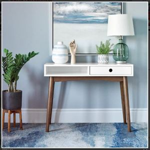"Writing Desk White Walnut . 39.25"" X 18"" X 30.25""h . New. Especial Price for Sale in Anaheim, CA"