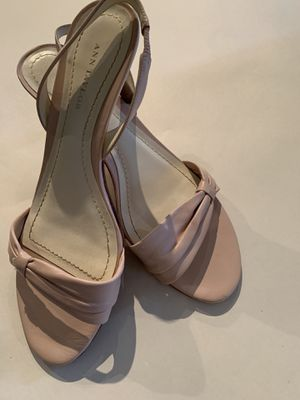Ann Taylor pink leather sandals for Sale in Ashburn, VA