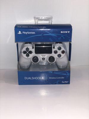 Brand New Glacier White PS4 Dualshock 4 Wireless Controller for Sale in Lincoln, NE