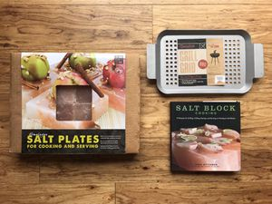 BRAND NEW Himalayan Pink Salt Block Cooking/Grilling Set for Sale in San Francisco, CA