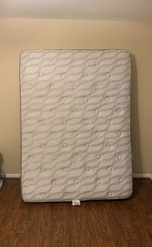 Queen size matters and box spring! for Sale in Roanoke, VA