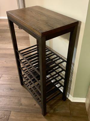 Standing Wine Rack w/ Stemware Rack for Sale in Arlington, VA