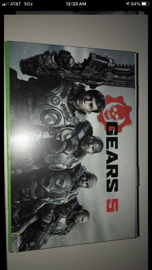 Gears 5 limited edition Xbox one x for Sale in Arnold, MO