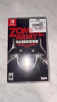Zombie Army Trilogy Nintendo Switch for Sale in Tyler, TX