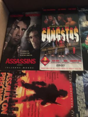 VHS Movie Bundle for Sale in Woodhaven, MI