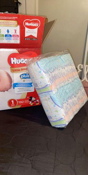 Huggies Diapers size 1 for Sale in Norwalk, CA