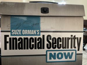 Brand New Suze Orman's Financal Security Now Package for Sale in Fairburn, GA