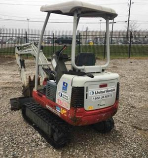 2013 Takeuchi TB016 Mini Excavator with 1085 Hours for Sale in Deerfield, IL
