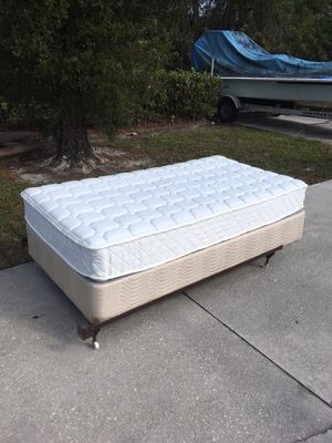 Twin Size Bed & Frame DELIVERY AVAILABLE 🚗 for Sale in Bonita Springs, FL