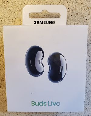 Brand New Samsung Galaxy Buds Live Bluetooth headset - Black + Never Open headphone for Sale in Vancouver, WA
