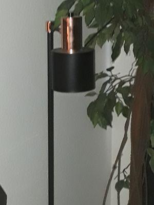 Copper and Black floor lamp - $15 for Sale in Phoenix, AZ
