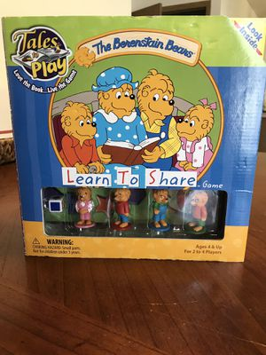 "The Berenstain Bears ""Learn to Share Game"" for Sale in Murray, UT"
