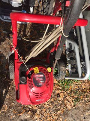 Craftsman pressure washer for Sale in Tampa, FL