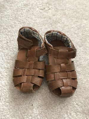 Baby walker sandals size 4.5 for Sale in Falls Church, VA