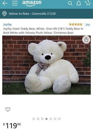 "78"" Joyfay Teddy bear for Sale in Catonsville, MD"