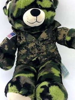 Build a Bear Army Bear for Sale in Englewood,  NJ