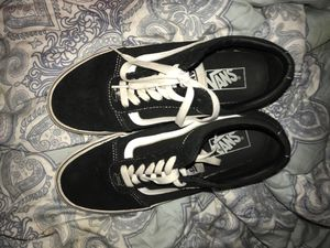 Black and white vans for Sale in Waurika, OK