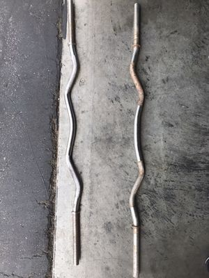 Steal Standard curl bar for Sale in Tujunga, CA