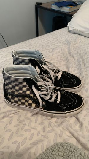 Checkered High Top Vans size 9.5 for Sale in Wake Forest, NC