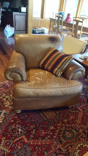 Leather Side Chair for Sale in Crosslake, MN
