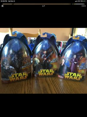 2005 Hasbro Star Wars: Revenge Of The Sith Collection 1 Action Figures Bundle for Sale in Kent, WA