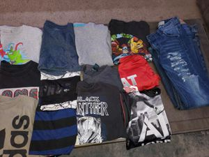Over 37 Shirts. Size 8-Medium. Some large kids for Sale in Fresno, CA