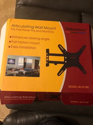 """Full motion tv wall mount!! Up to 55""""! for Sale in Woodland Park, NJ"""