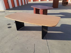 Great deal!! Excellent oak 8ft conference table!! for Sale in Santa Ana, CA