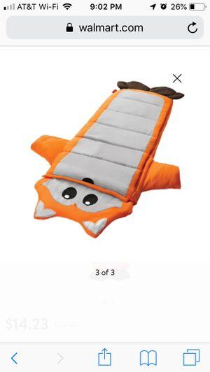 Ozark trails kids sleeping bag, Fox for Sale in Palm Harbor, FL