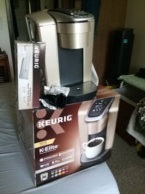 Keurig K-Elite - Latest Home Brewer for Sale in Denver, CO