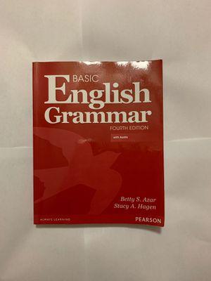 Basic English Grammar (fourth edition ) with audio for Sale in Opa-locka, FL