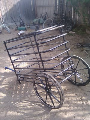 Enclosed and secure Bicycle and yard trailer. for Sale in Fresno, CA